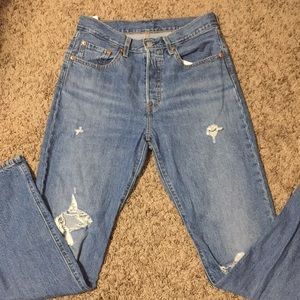 Levi's 501 Original Straight Leg Jeans